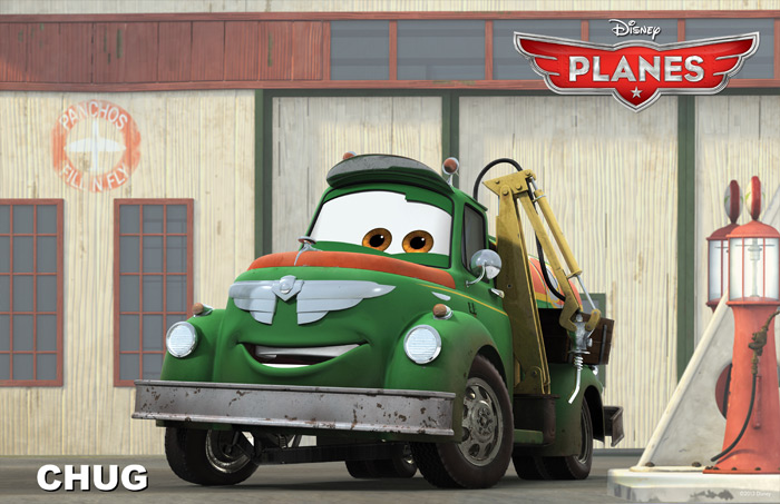 The Cars of Disney's Planes  ::  DavesCarShow.com